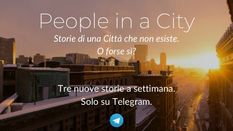 Copertina del canale telegram di People in a City