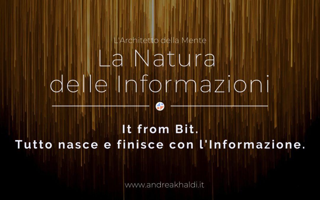 La natura delle Informazioni