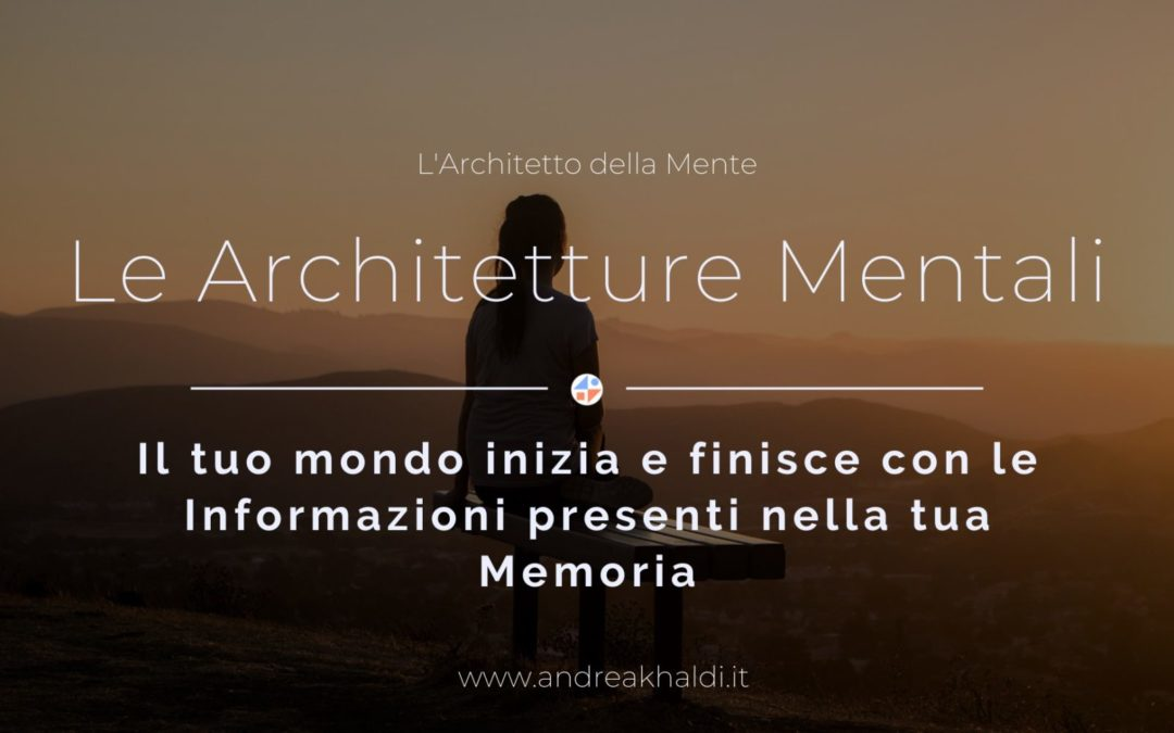 Le Architetture Mentali
