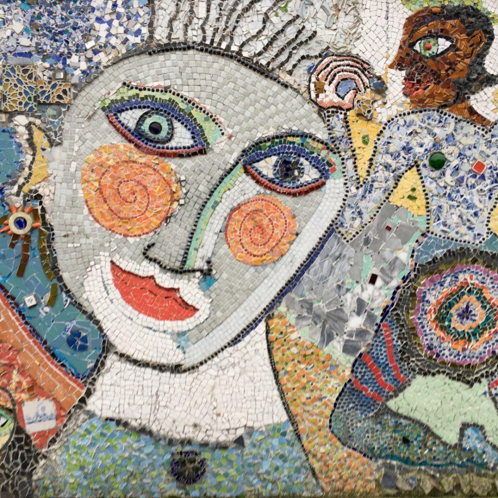 Immagine di un quadro cubista
