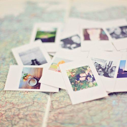 Immagine di tante polaroid