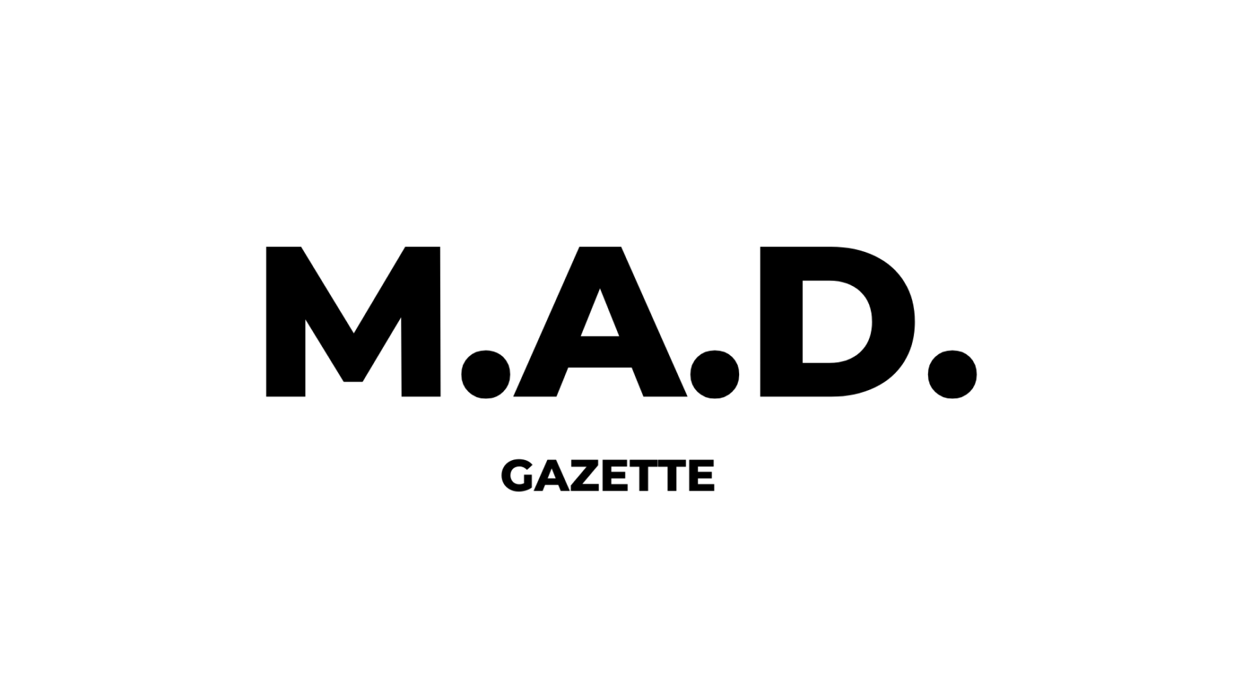 M.A.D. Gazette cover