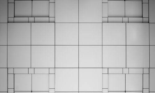 Righe su un foglio che creano una struttura quadrata